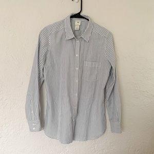H&M striped button down